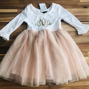 NWT Girls Princess Dress Size 4